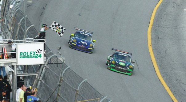 Lally Daytona Win 09