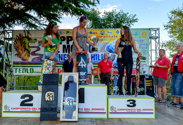 Womens DSB podium
